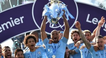 MANCHESTER CITY ARE EPL CHAMPIONS, FIRST TO WIN TITLE BACK TO BACK IN A DECADE