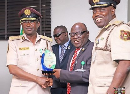 NPA Photo News : AS NPA HANDS OVER STORAGE FACILITY BUILDING TO NIS