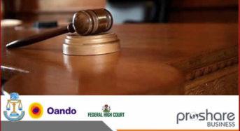 Oando Plc Vs SEC: Court Adjourns Hearing