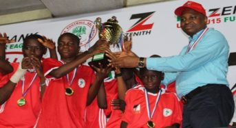 Zenith Bank/NFF U-13, U-15 Future Eagles Tournament: South-West and South-South emerge champions