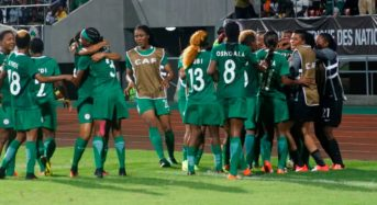 Super Falcons make Round of 16 at France 2019, opponent named