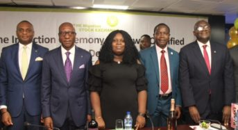 NSE Photo News: During The Induction Ceremony Of The Newly Authorize Dealing Clerk At The Exchange