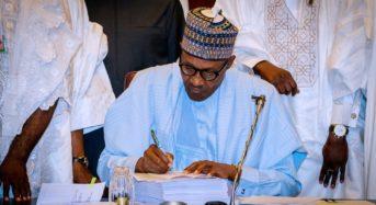 Buhari Endorses$3TrillionAfCFTA