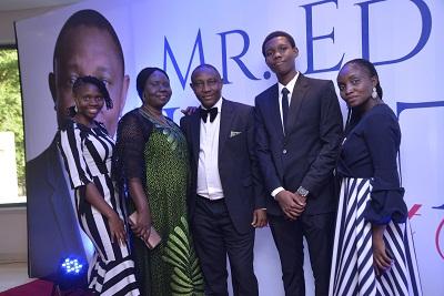 Mr. Edwin Igbiti and family