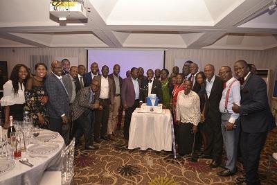 Members of staff of AIICO Insurance Plc.