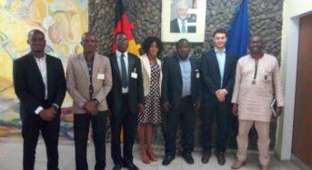 JIFORM Photo Story: JIFORM Delegates At The German Embassy Today
