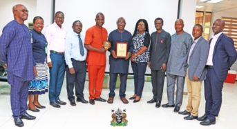NPA Photo News: The Managing Director, Nigerian Ports Authority, Hadiza Bala Usman recognised by the Nigerian Institution of Procurement Engineers, Lagos Chapter.