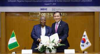 NDIC Signs MoU With Korea Deposit Insurance Corporation