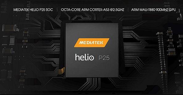 Smartphones with MediaTek Helio P25 Processor