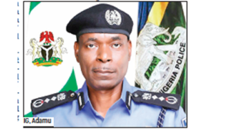 FG Directs Recruitment Of 40,000 Community Police Constables