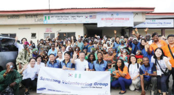 Samsung Heavy Industries Nigeria Sponsors Eye Surgeries For Another 100 Nigerian Patients