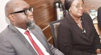 Meeting between SEC and Ministry of Finance and Economic Affairs The Gambia, in Abuja, Tuesday