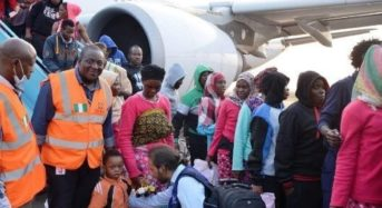 NEMA Receives Another Set Of Stranded Nigerians From Libya