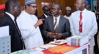 President Buhari Visits Shell's Booth at the 25th NES in Abuja