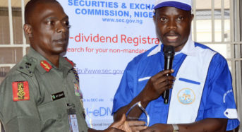 SEC Urges Military To Invest In Capital Market For Wealth Creation