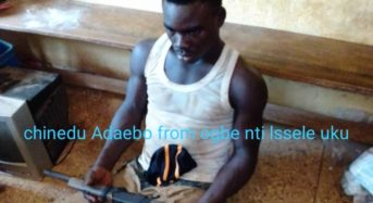 Delta State Police Arrests Masked Armed Robber At Onicha-Ugbo