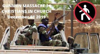 Gunmen massacre 14 Christians during Protestant service in Burkina Faso