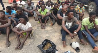 24 Awawa Boys Arrested By Special Strike Force In Lagos