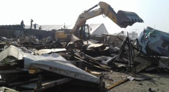 Lagos Government Begins Demolition Of Illegal Structures