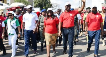 Oyo State Government PHOTO NEWS: During A Walk To Mark International Anti-corruption Day By The EFCC in Ibadan.