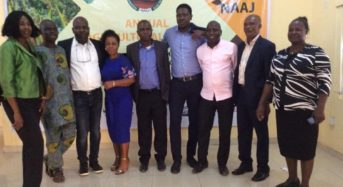 NAAJ Annual Agric Conference and Recognition Ceremony Held In Lagos