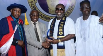 OAU Honours Caritas Communications CEO