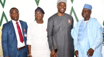 Oyo State Photo News: At The Governor's Office Secretariat, Ibadan.