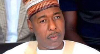 Boko Haram Fighters Recruiting Children- Zulum