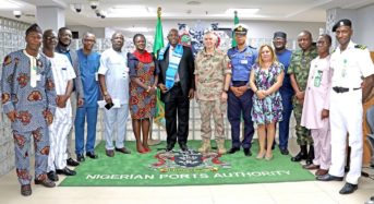 NPA PHOTO NEWS: KOFI ANAN INTERNATIONAL PEACEKEEPING TRAINING CENTRE (KAIPTC), GHANA VISITS NPA