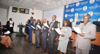 SEC Photo News : During The Inauguration Ceremony Of Anti-Corruption, Transparency Unit and Monitoring Unit Of SEC In ABUJA