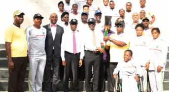 "LASG Photo News: During The Presentation Of The National Sport Festival ""Edo 2020"" Unity Torch To The Governor, At The Lagos House, Alausa, Ikeja,"
