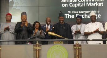 NSE Photo News : During Senate Committee On Capital Market Visit To NSE