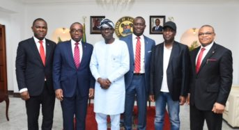 Zenith Photo News: Zenith Bank Mgt's Visit Sanwo-Olu In Lagos