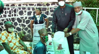 Oyo State Photo News : Gov Makinde Distribute Palliatives To Disabilities People
