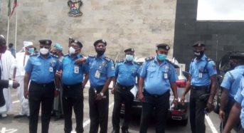 Lagos Starts Community Policing Pictures