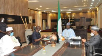 NECO Chief Visits Niger State Governor Unveils 11 Point Agenda