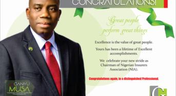 Guinea Insurance Congratulates New NIA Chairman