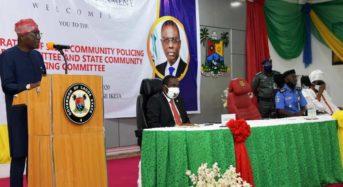 Lagos State Photo News: Gov. Sanwo-Olu Inaugurates State Community Policing Advisory Committee (SCPAC) And State Community Policing Committee (SCPC) On Wednesday In Lagos