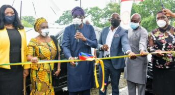 NNPC/Shell Donates Security Vehicles To Lagos State