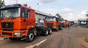 Dangote Cement Distributors Get 82 New Trucks