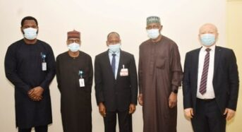 SEC Photo News : During a Meeting Between The SEC And Accountant General Of The Federation In Abuja, On Tuesday.