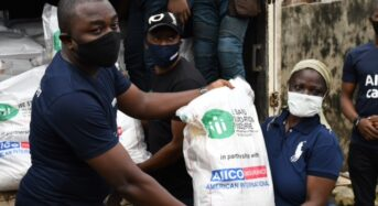 AIICO Partners NGO To Feed Underprivileged Community