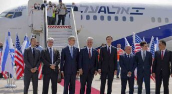 Israel Makes First Historic Flight To UAE