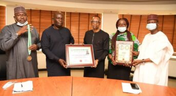 NASAL Honours NCC Boss, Danbatta With National Service Excellence Award