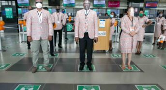 SAHCO Promotes Nigerian Culture As Operational Staff Adorns On Ankara