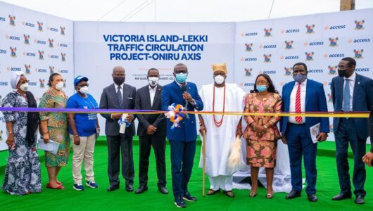 Access Bank Completes Oniru Road Project With Lagos Government