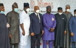 NCC Board Visits Imo State Governor, Sen. Hope Uzodinma