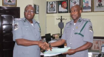 New Controller Takes Over Customs FOU Zone C Owerri