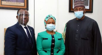 SEC Photo News: During a Meeting Between The SEC And Stanbic IBTC Bank in Abuja
