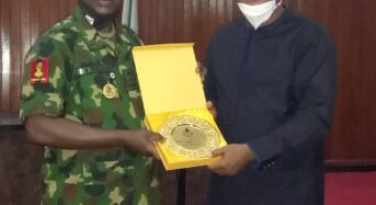 Ebonyi State Lauds NYSC On COVID-19 Prevention